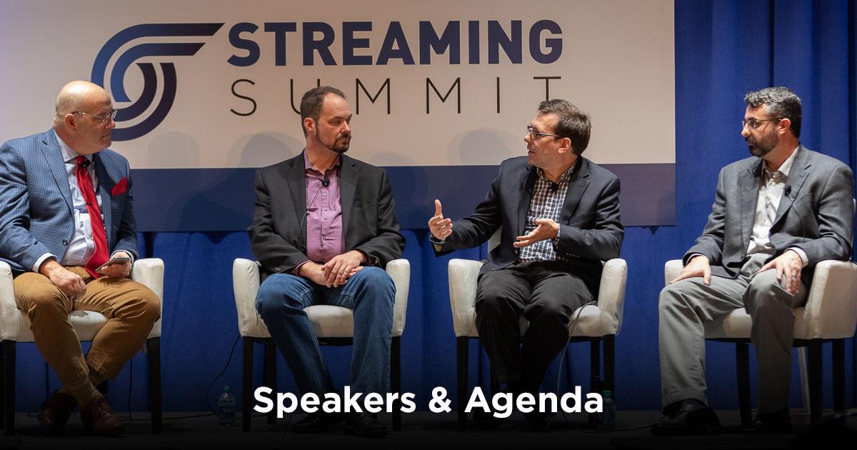 Speakers & Agenda