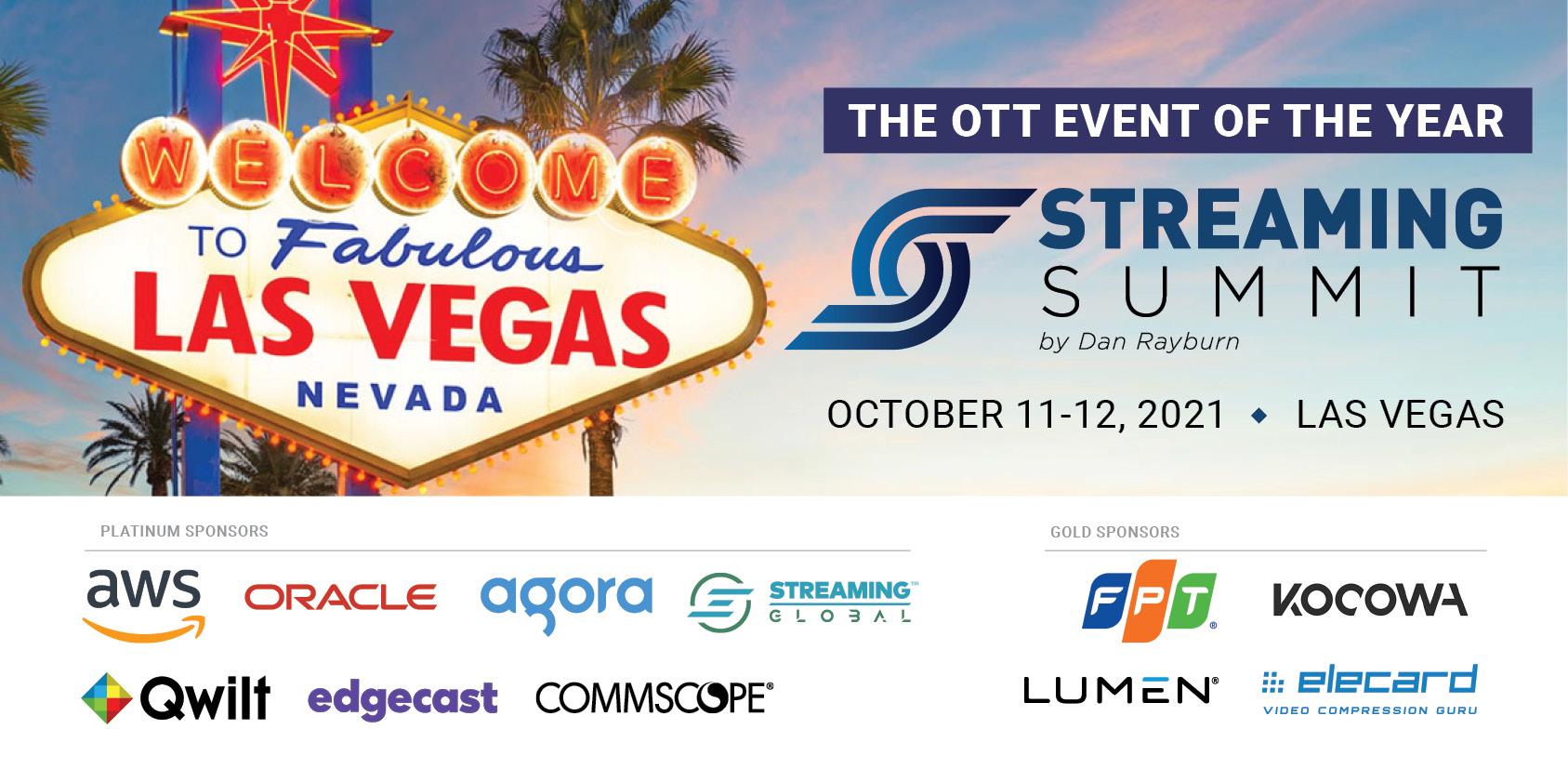 Streaming Summit Sponsors